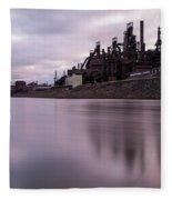 Bethlehem Steel Sunset Fleece Blanket