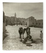 Bethlehem: Street, C1911 Fleece Blanket