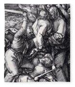 Betrayal Of Christ 1508 Fleece Blanket