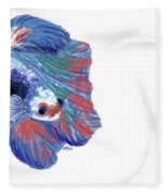 Betta Fish Fleece Blanket