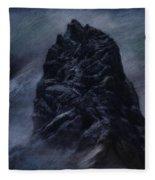 Better Part Of Valor Fleece Blanket