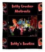 Betty Crocker's Abstracts - Betty's Bowties Fleece Blanket