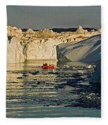 Between Icebergs - Greenland Fleece Blanket
