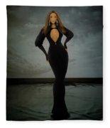 Beyonce - Beautiful Liar  Fleece Blanket