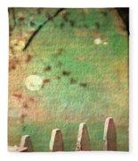 Beyond Fenceposts Fleece Blanket