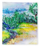 Beyond The Clouds Fleece Blanket