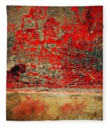 Beyond The Peeling Paint Fleece Blanket