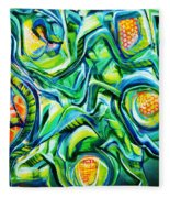 Beyond The Unknown - Right Fleece Blanket