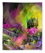 Biarritz 14 Bis Fleece Blanket
