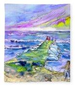 Biarritz 20 Fleece Blanket