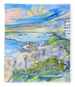Biarritz 26 Fleece Blanket