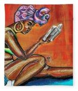 Bible Reading Fleece Blanket