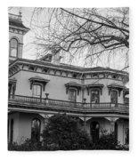 Bidwell Mansion Fleece Blanket