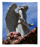 Big Angel Wings Fleece Blanket