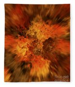 Big Band - Fiery Cloud Fleece Blanket