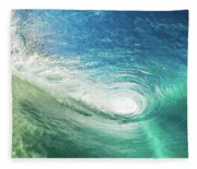 Big Blue Eye Fleece Blanket