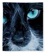 Big Blue Fleece Blanket