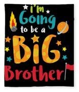 Big Brother Space Theme Light Promotion Fleece Blanket