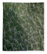 Big Cactus Pins. Close-up Fleece Blanket