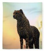 Big Cats 104 Fleece Blanket