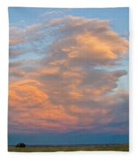 Big Country Sunset Sky Fleece Blanket