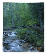 Big Creek Bridge Fleece Blanket
