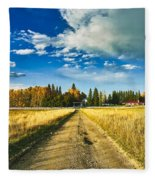 Big Creek Ranch Fleece Blanket