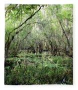 Big Cypress Preserve Fleece Blanket