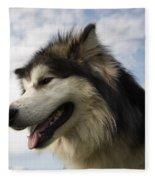 Big Dog Fleece Blanket