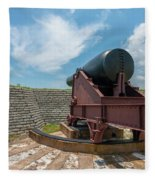 Big Gun Tracks Fleece Blanket
