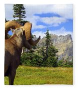 Big Horn 3 Fleece Blanket
