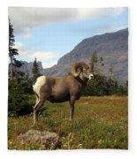Big Horn 4   Fleece Blanket