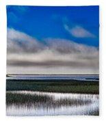 Big Lagoon Park California Fleece Blanket