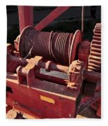 Big Red Winch Fleece Blanket