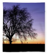 Big Sky - New Mexico Fleece Blanket