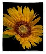 Big Sunflower Fleece Blanket