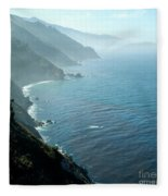 Big Sur Majesty Fleece Blanket