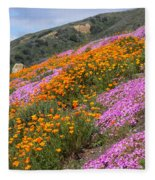 Big Sur Spring Fleece Blanket