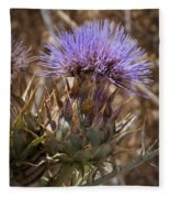 Big Thistle 2 Fleece Blanket