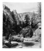 Big Thompson Canyon Fleece Blanket
