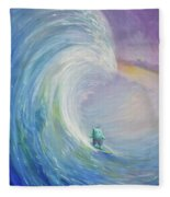 Big Wave Fleece Blanket