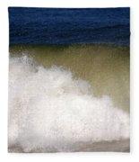 Big Waves Fleece Blanket