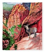 Bighorn Fleece Blanket