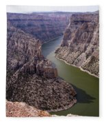 Bighorn Canyon Fleece Blanket