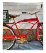 Bike - Delivery Bike Fleece Blanket