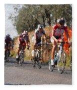 Bike Race Fleece Blanket