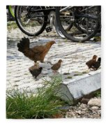 Biker Chicks Fleece Blanket
