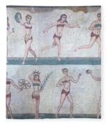 Bikini Girls Mosaic Fleece Blanket