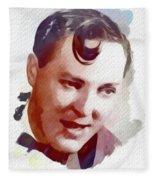 Bill Haley, Music Legend Fleece Blanket
