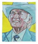 Bill Monroe Fleece Blanket